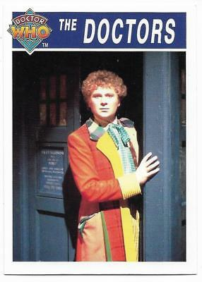 1995 Cornerstone DR WHO Base Card (176) The Doctors