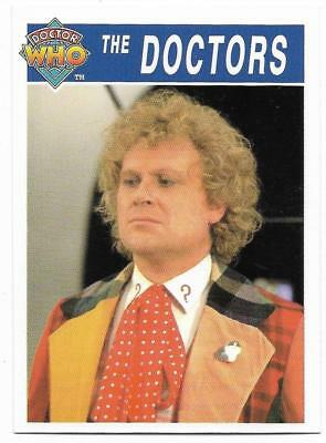 1995 Cornerstone DR WHO Base Card (177) The Doctors