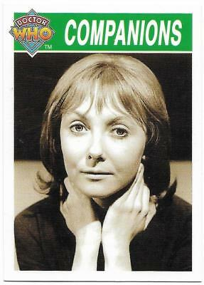 1995 Cornerstone DR WHO Base Card (181) Companions