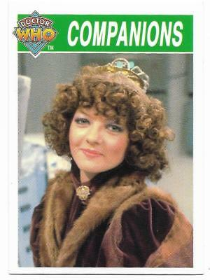 1995 Cornerstone DR WHO Base Card (187) Companions