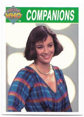 1995 Cornerstone DR WHO Base Card (189) Companions