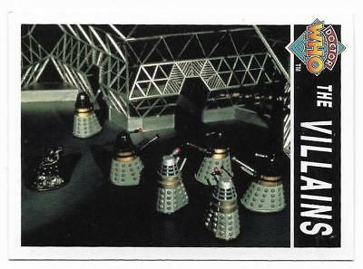 1995 Cornerstone DR WHO Base Card (190) The Villains
