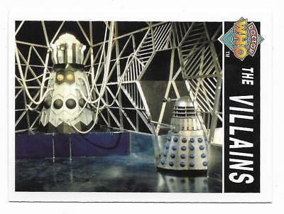1995 Cornerstone DR WHO Base Card (191) The Villains