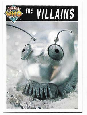 1995 Cornerstone DR WHO Base Card (196) The Villains