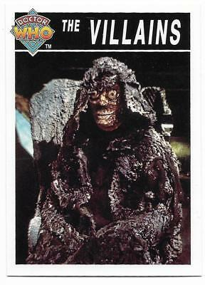 1995 Cornerstone DR WHO Base Card (197) The Villains