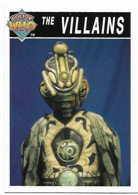 1995 Cornerstone DR WHO Base Card (198) The Villains