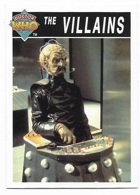 1995 Cornerstone DR WHO Base Card (200) The Villains