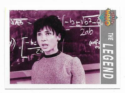 1995 Cornerstone DR WHO Base Card (203) The Legend