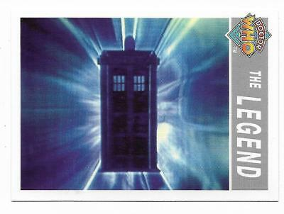 1995 Cornerstone DR WHO Base Card (206) The Legend