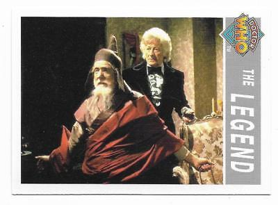 1995 Cornerstone DR WHO Base Card (207) The Legend