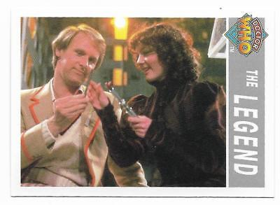 1995 Cornerstone DR WHO Base Card (209) The Legend