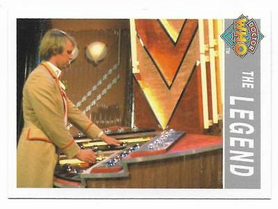 1995 Cornerstone DR WHO Base Card (210) The Legend