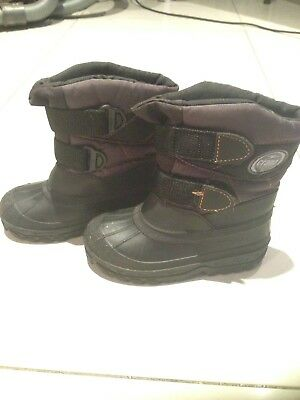 Kids Unisex Crane SPORTS SNOW BOOTS Size 25 / 26