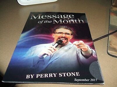 Perry Stone S Cd Mess** Sept 2017 The Spiritual Laws Of Signs & Wonders** New
