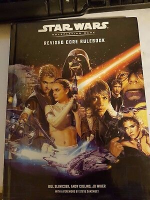 Star Wars Role Playing Game Revised Core Rulebook D20 Wizards Of The Coast