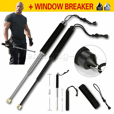 Professional Outdoor Sport Self-defense Tool Retractable Stick for Men Women New