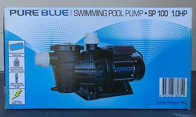 Pure Blue Swimming Pool Pump - SP100 - 1HP