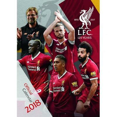 The Official Liverpool FC Calendar 2018
