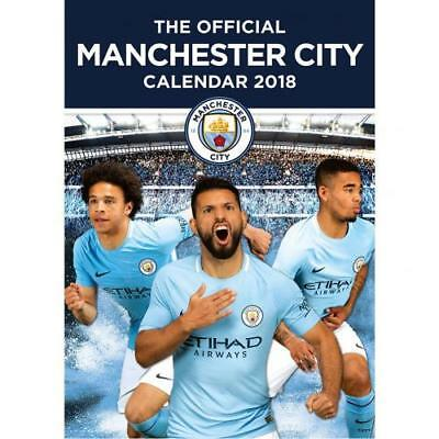 The Official Manchester City FC Calendar 2018