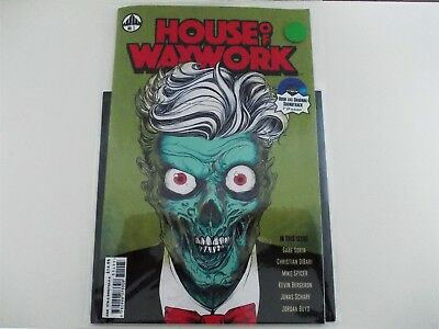"""House of Waxwork Comic Issue #1 Feat. Occult Slumber Party w/ 7"""" EP Soundtrack"""