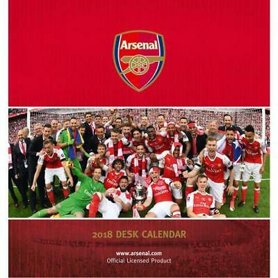 The Official Arsenal FC Desktop Calendar 2018