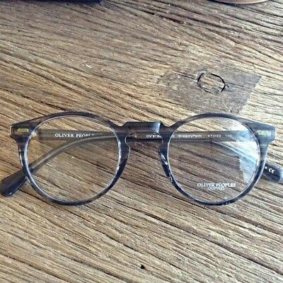 Oliver Peoples Gregory Peck  OV5186 Gray Frame New 100 % 47 mm