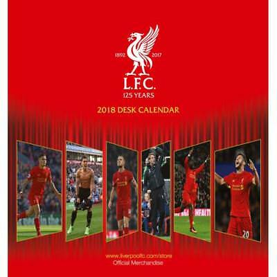 The Official Liverpool FC Desktop Calendar 2018