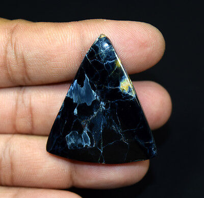 52.10 Cts. 100 % Natural Chatoyant Pietersite Triangle Cabochon Loose Gemstones