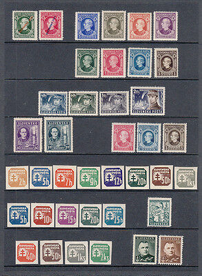 Slovakia  1939 - 1945   Collection of Sets and Singles    mnh  **  See Scans