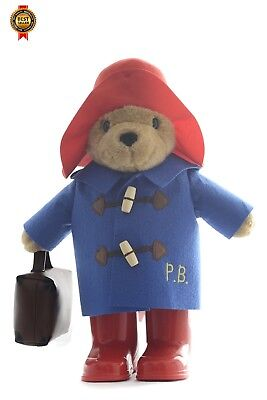 Paddington Bear Large Classic with Boots and Suitcase NEW