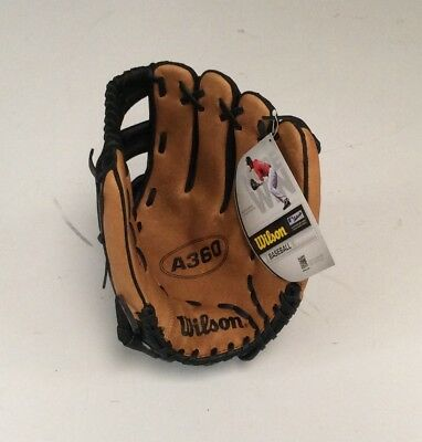 "Wilson A360 12"" Baseball Glove. RH Thrower. With free rounders ball."