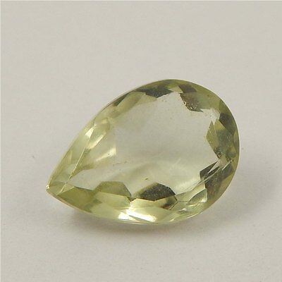 5 cts Natural Green Amethyst Gemstone Must See Loose Cut Faceted R#192-10