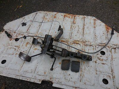 Citroen Dyane 6 pedal box and master cylinder.