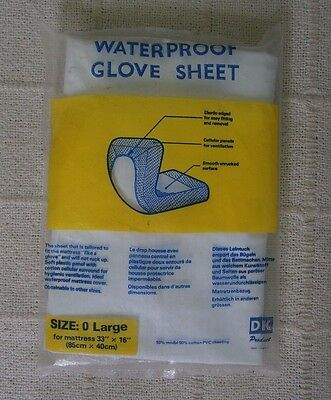 Vintage Waterproof Glove Sheet - Pram or Crib -  New