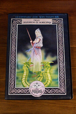 Swords and Sorcery Adventure game for Spectrum 48k - boxed w/ inlays & manual