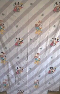 drap housse de couette WALT DISNEY MICKEY MINNIE C.T.I FRANCE vintage