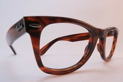 Vintage B&L Ray Ban Wayfarer eyeglasses frames acetate made in the USA