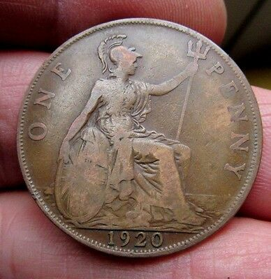 1920 One Penny King George V th