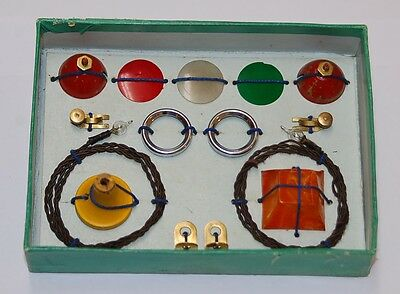 Meccano,vintage,prewar M280 lighting set 1934/36 with box and guarantee slip.