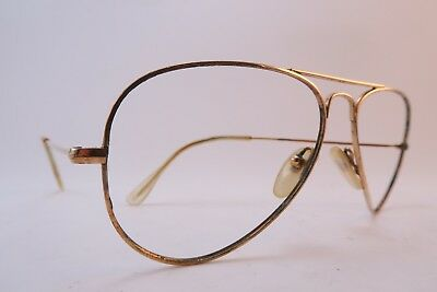 Vintage Morel eyeglasses frames gold filled aviator made in France