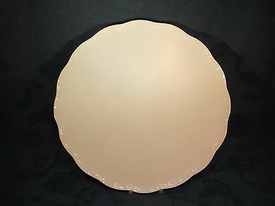 Rosenthal Classic Rose Collection Gold 31cm Round Serving Platter (E)