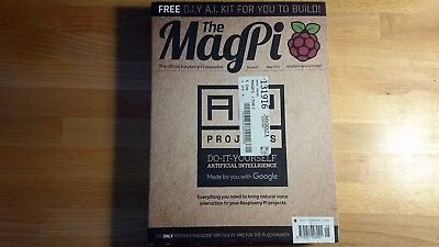 The MagPi Issue 57 - Google AIY Voice Complete Kit & Magazine for Raspberry Pi 3