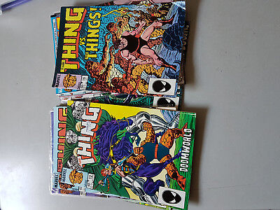 THE THING COMIC - 13 issues from 1984-1986 - MARVEL