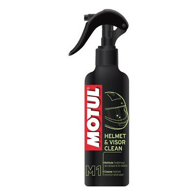 Motul M1 Motorcycle Motorbike Spray Helmet and Visor Cleaner 250ML Helmet Care