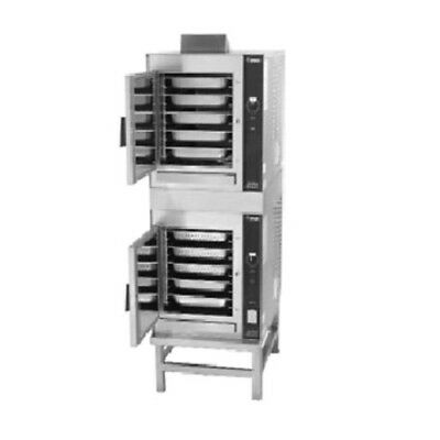 Groen (2)HY-5GF Stand Mount Double-Stacked HyperSteam Convection Steamer