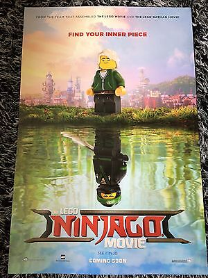 THE LEGO NINJAGO MOVIE One Sheet Movie Poster Jackie Chan