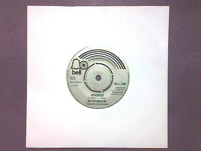 "Bay City Rollers - Remember (7"" single) BELL 1338"