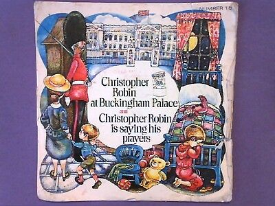 "Cheryl Kennedy - Christopher Robin At Buckingham Palace (7"" single) p/s NO 16"