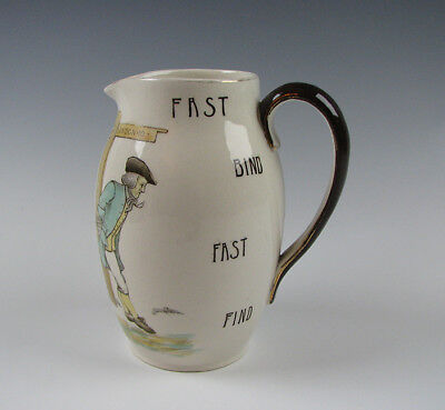 Royal Doulton Series Proverb Motto Jug Fast Bind Fast Find