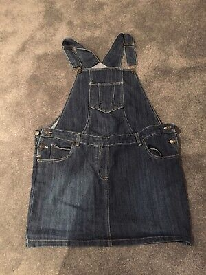jojo maman bebe Dungaree Dress Size 8